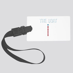 The Real Parts Of The Boat Large Luggage Tag