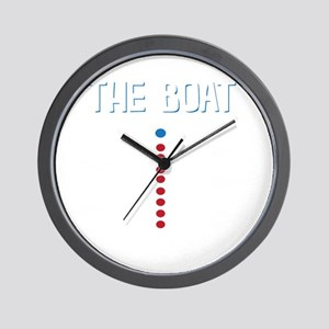 The Real Parts Of The Boat Wall Clock