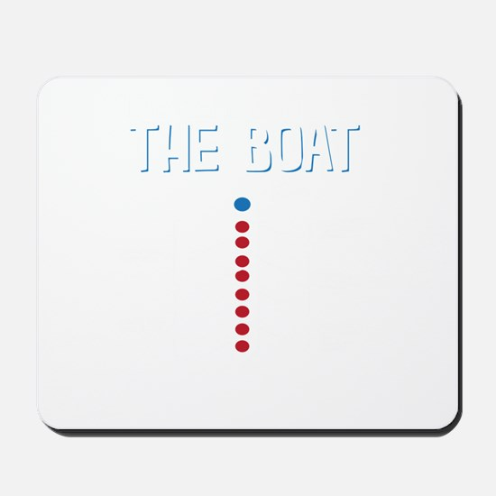 The Real Parts Of The Boat Mousepad