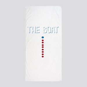 The Real Parts Of The Boat Beach Towel