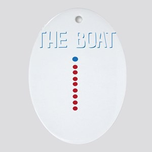 The Real Parts Of The Boat Oval Ornament