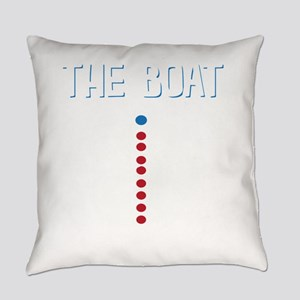 The Real Parts Of The Boat Everyday Pillow