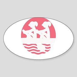 Rowing Girlz Sticker