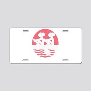 Rowing Girlz Aluminum License Plate
