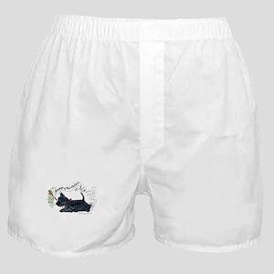Scottish Terrier Birthday Dog Boxer Shorts