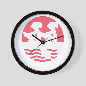 Rowing Girlz Wall Clock