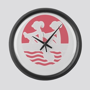 Rowing Girlz Large Wall Clock