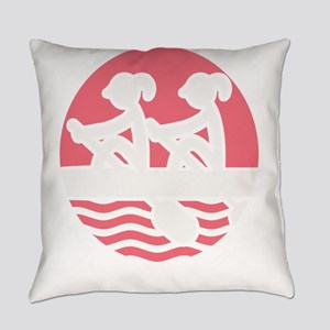 Rowing Girlz Everyday Pillow