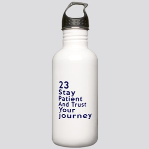 Awesome 23 Birthday De Stainless Water Bottle 1.0L