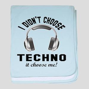 I didn't choose Techno baby blanket