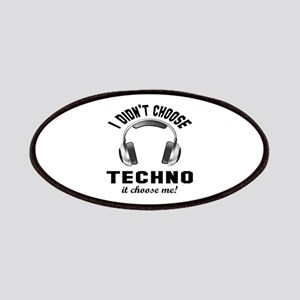 I didn't choose Techno Patch