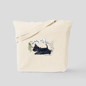 Scottie Girl Birthday Tote Bag