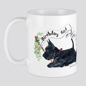 Scottie Girl Birthday Mug