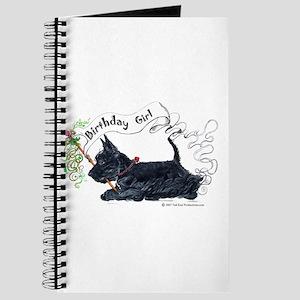 Scottie Girl Birthday Journal