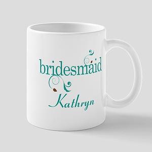 Bridesmaid Wedding Personalized Mugs