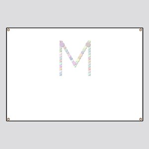 "Letter ""M"" (Candies) Banner"