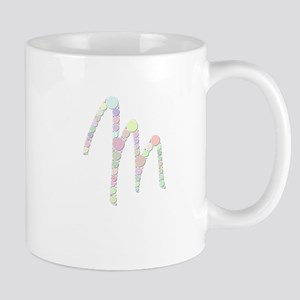 "Letter ""M"" (Candies) Mugs"