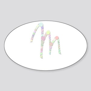 "Letter ""M"" (Candies) Sticker"