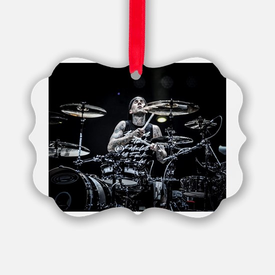 Unique Drumming Ornament