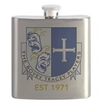 Bovey Tracey Players Flask