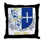 Bovey Tracey Players Throw Pillow