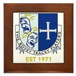 Bovey Tracey Players Framed Tile