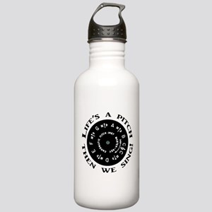 Life's a Pitch Sports Water Bottle