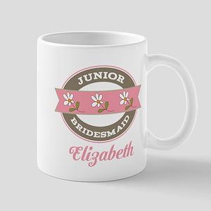 Personalized Junior Bridesmaid Gift Mugs
