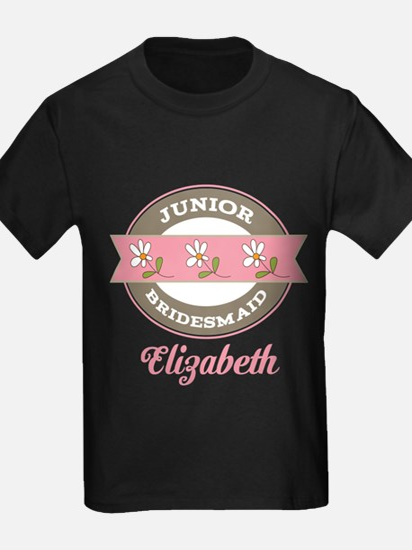 Personalized Junior Bridesmaid Gift T-Shirt
