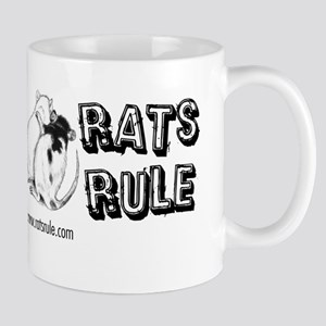 Rats Rule Rat Hug Mugs