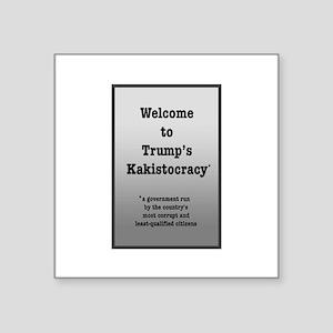 Trump's Kakistocracy Sticker