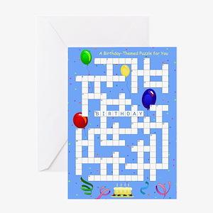 Crossword - Birthday Card