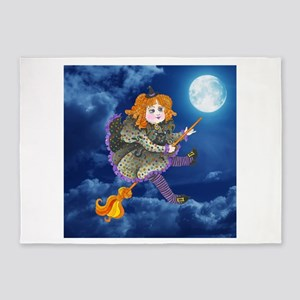 Wee Witch 5'x7'Area Rug
