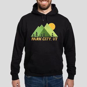 park city utah mountain sun Sweatshirt