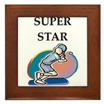 Tennis Framed Tile