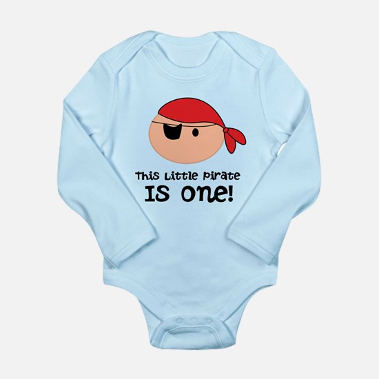 Personalized Pirate 1st Birthday Body Suit