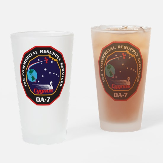 OA-7 Spacecraft Drinking Glass