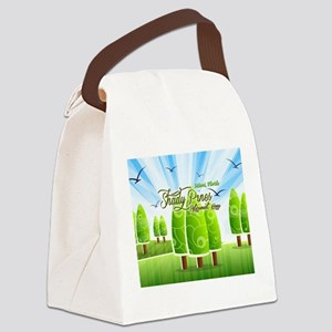 Shady Pines Retirement Home Canvas Lunch Bag