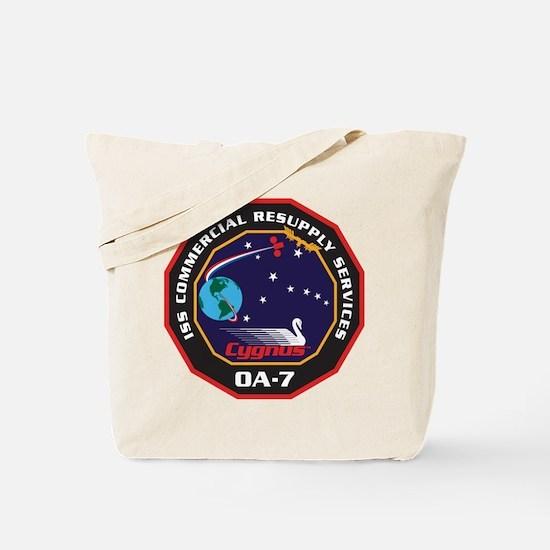OA-7 Spacecraft Tote Bag