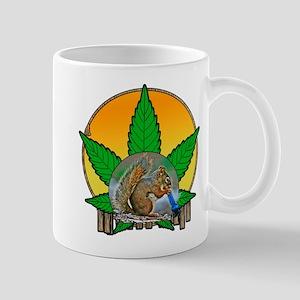 Puff puff squirrel Mug