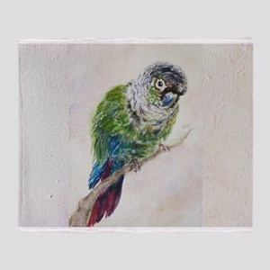 Conure landscape view Throw Blanket