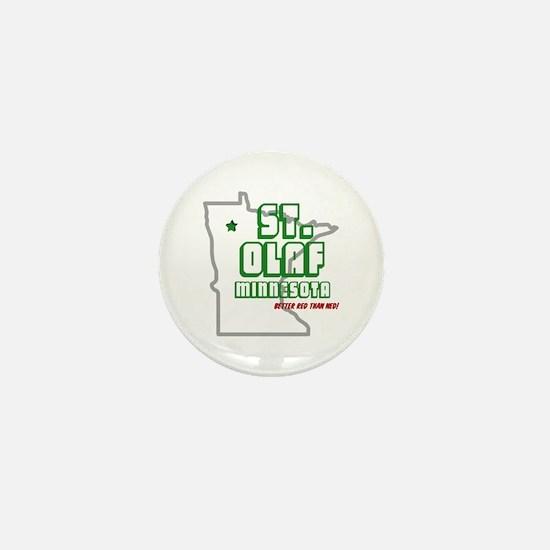 St. Olaf, MN Mini Button
