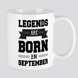 Legends Are Born In September Mugs