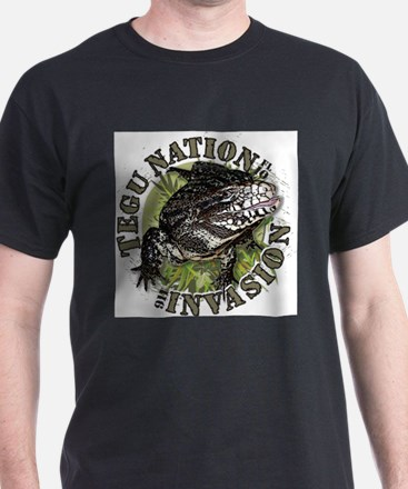 Tegu Lizard Nation T-Shirt