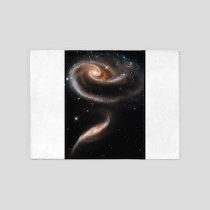 Arp 272 Interacting galaxies 5'x7'Area Rug