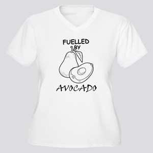 Fuelled By Avocado Plus Size T-Shirt