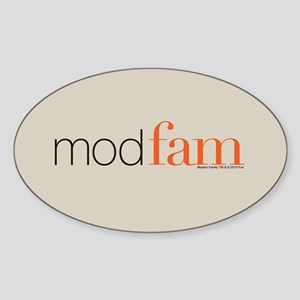 Modfam Sticker (Oval)