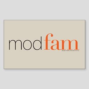 Modfam Sticker (Rectangle)