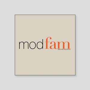 "Modfam Square Sticker 3"" x 3"""