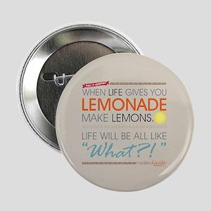 """Modern Family Phil's-osophy Lemonade 2.25"""" Button"""
